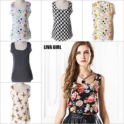 Женские блузки и Рубашки LIVA GIRL 2015 блузки и рубашки