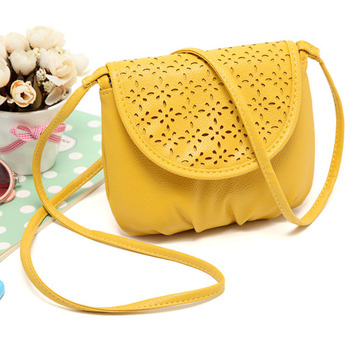 Hot Selling Women Fashion Yellow Leather Satchel Shoulder Bags Casual Cross Body Messenger Handbags Free Shipping&Wholesale