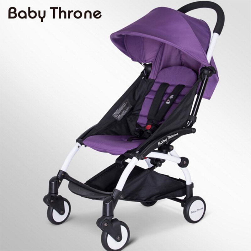 Ems Free Shipping Baby Stroller Carriage Strollers Fashion Pushchair Lightweight Portable Pram