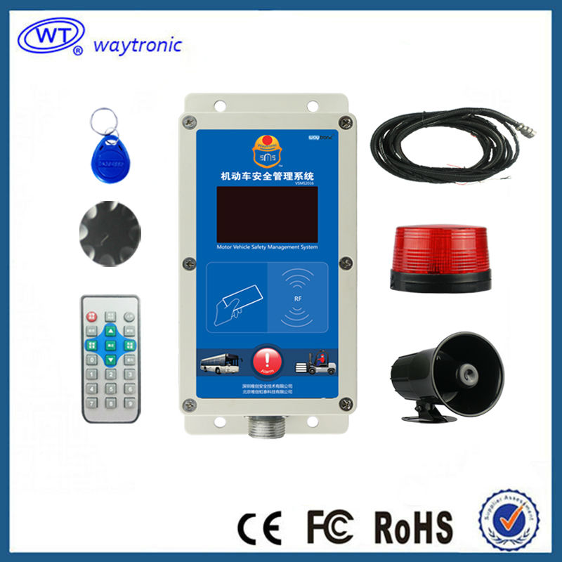 Forklift Security Proximity Warning Alert System Speed Limit Overspeed Alarm Device Waterproof Direct Manufacturer(China (Mainland))