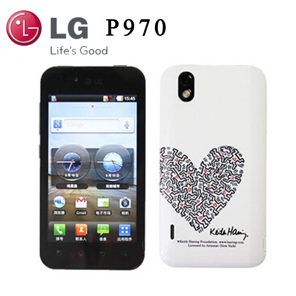 Original LG Optimus P970 Unlocked cell phones wifi bluetooth GPS gsm 3G cheapest Android mobile Phone 4.0'' 5MP Camera(China (Mainland))