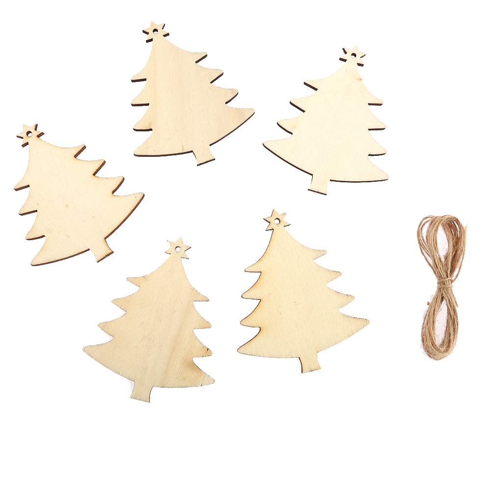 Flourishes wooden christmas tree card toppers making craft shabby chic