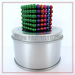 21 colors 216 Pcs Diameter 5mm Buckyballs Neocube Neo Cube Magic Puzzle Magnetic Magnet Balls Spacer Beads Education Toy(China (Mainland))