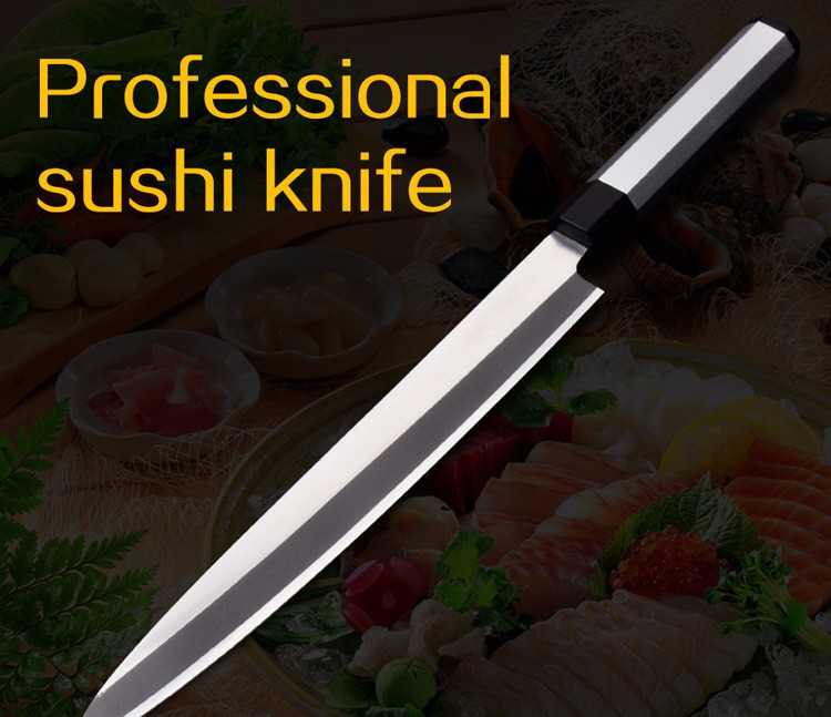 Buy Free Shipping LD Brand stainless steel kitchen knife salmon sashimi raw fish fillet chef knife cooking knives Sashayed gift cheap