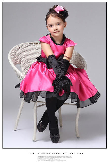 girls party dresses summer 2013 girls evening dress,baby big bowknot dresses wholesale,4size*2colors in stock free shipping
