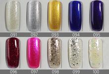 10ml Pcs 100 Colors Gel Nail Polish UV Gel Polish Long lasting Soak off LED UV