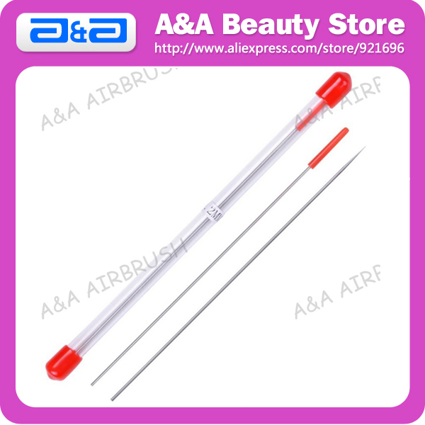 0.2mm Airbrush Needle Air Brush Accessory Replacement Spare Parts 3pcs/Lot Wholesale is welcomed!<br><br>Aliexpress