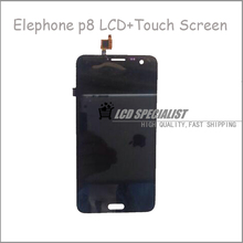 5.7″ Inch Black Original Elephone P8 LCD Display+Touch Screen Digitizer Full Assembly Repartment