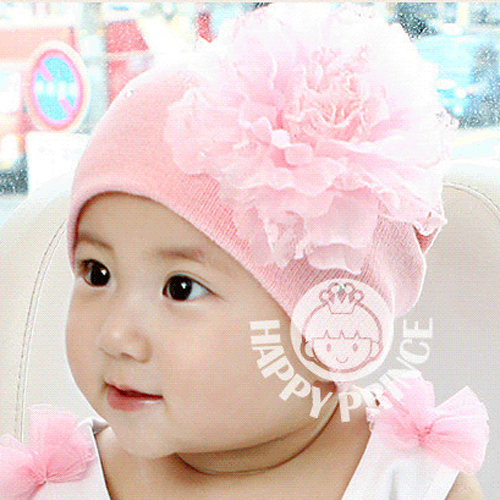 New arrival solid color crochet baby girl hat, autumn and winter fashion baby gorros, 4-30 month newborn toddler baby beanies(China (Mainland))