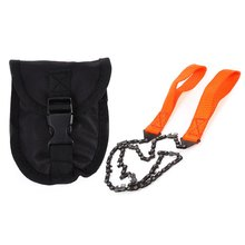 Buy Hot Practical Hand Chain Saw Survival Kit SOS Multifunctional Emergency Equipment Outdoor Survival Kits Adventure Camping for $8.79 in AliExpress store