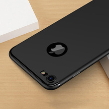 Buy 0.3mm Ultra thin Matte Scrub Case Cover coque iPhone 7 Plus 6 6S Plus 5 5S SE Soft TPU Silicone Phone Covers shockproof Skin for $1.18 in AliExpress store