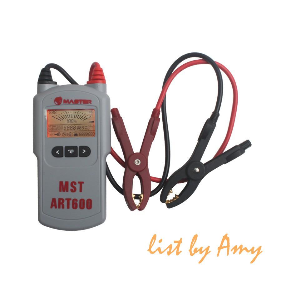 Wholesale Battery Tester lead acid battery tester 12v battery analyzer MST A600(China (Mainland))