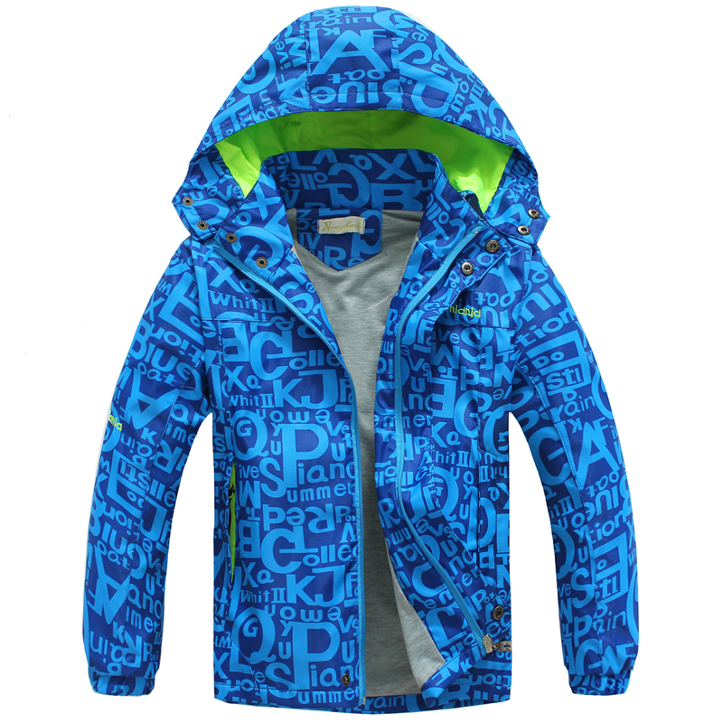 Plus Size 130-170 New Childrens Boys Active Outdoor Windbreaker Jacket Coat For Spring Autumn,2 Colors,NKD98<br><br>Aliexpress