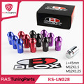20Pcs pack JDM Blox Anti Theft Aluminum Wheel Lug Nuts Length 45mm M12x1 5 or M12x1