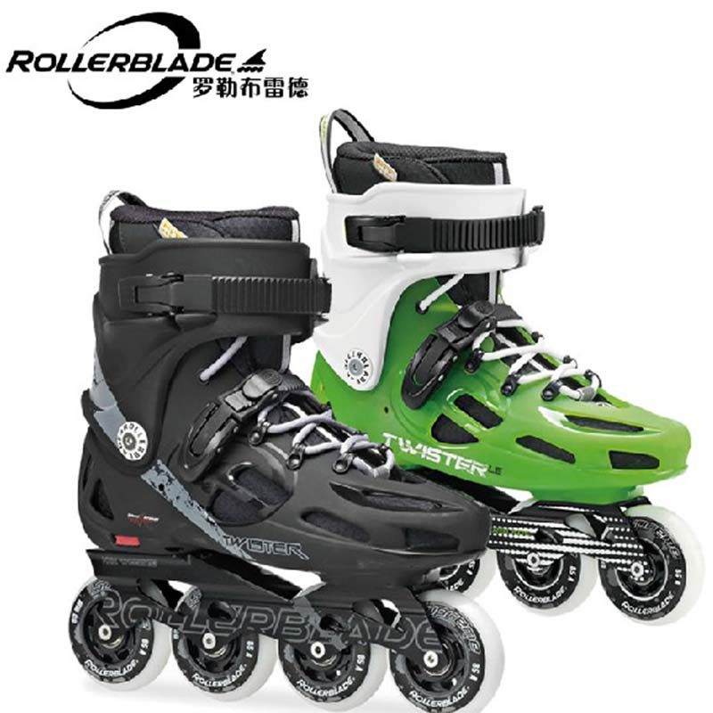 2014 Rollerblade Twister 80 Twister LE Adult Inline Skates Professional Roller Skating Shoes Street Free Skating Patines Adulto(China (Mainland))