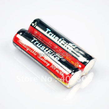 TrustFire 14500 900mAh 3.7V Protected Li-ion Battery (1-Pairs ) With free shipping