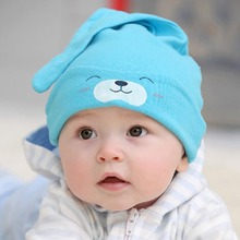 Hot Selling 1 Piece Child Sleep Hat Newborn Cap The Baby Kit Lens Cap Baby Cotton Cap(China (Mainland))