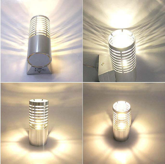 LED Wall Light Sconces Decor Fixture porch Lights Lamp bulb porch light modern-in LED Indoor ...