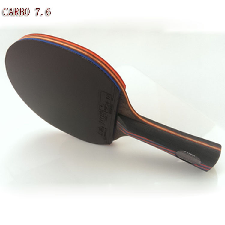 Top Quality Stiga table tennis racket pat Red Black Carbon 7.6 with rubber 05/64,DHS Hurricane 3,PINGPONG paddle case bolsa set(China (Mainland))