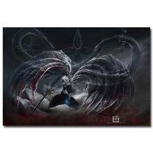 Bleach kurosaki ichigo hollow mask art silk stampa poster 13×20 24×36 pollici japan anime immagini per living room decor 022