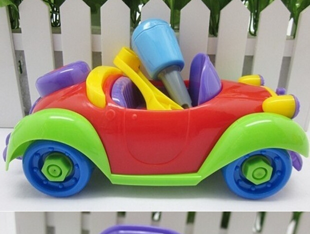 disassembly classic cars toys car model educational Model Vehicle baby yourself children baby toy(China (Mainland))