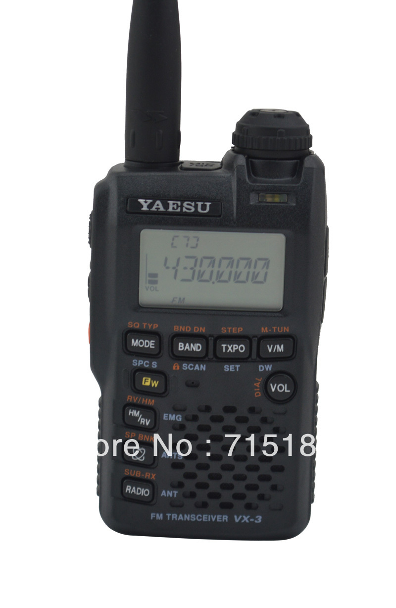 Yaesu VX-3R radio Ultra-compact Dual Band Handheld FM Transceiver/two way radio/yaesu walkie talkie interphone(China (Mainland))