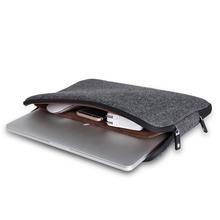 Top Selling Men Felt Waterproof Laptop Bag 11 12 13 14 15 15.6+Free Keyboard Cover for Macbook Air/Pro 13 Laptop Sleeve Case 13(China (Mainland))