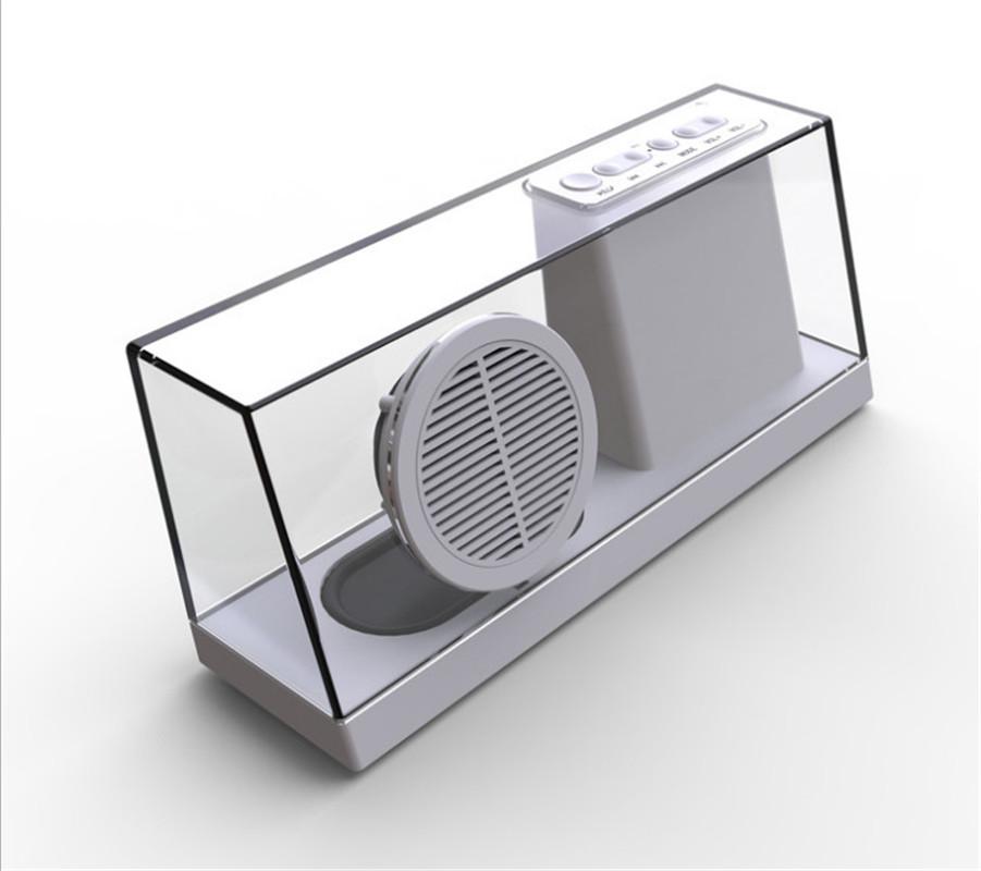 NiZHi SDY-033 3.5MM Audio Input Bluetooth Speaker Handfree Calling 1800Mah Five Color Choose Hidden LED Display Wireless Speaker(China (Mainland))