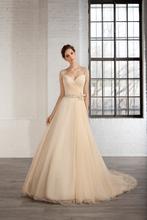 Buy Robe de mariage 2015 vestido de noiva tulle sweetheart court train beading bow A-line Wedding Dress NO.240 for $188.50 in AliExpress store