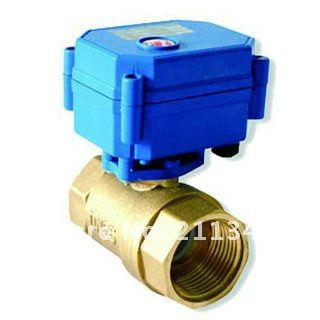 Гаджет  Water valve electric DC12V Brass 1