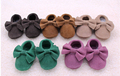 New 100 Genuine Leather Toddler suede Baby Moccasins Tassel bow Baby soft Shoes First Walkers Anti