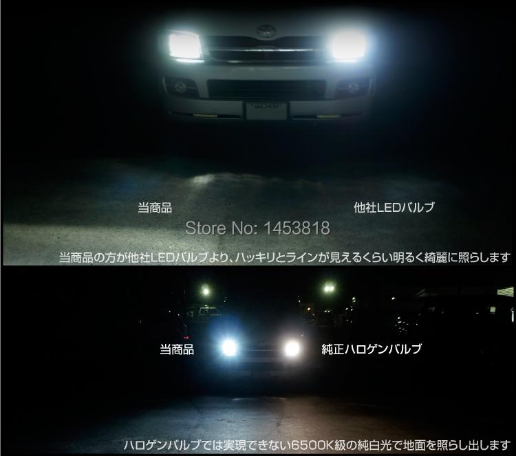 2015 New 4000lm 8000lumen Cree Xbd X Bd Chip 60w Car Led Headlight Hid Xenon Auto H4 Hi Lo H7