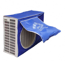 Outdoor Air Conditioners Weather Wrap Cover Enclosure Hood Wall Mounted Block Dust/Rust/Rain/Snow Blue PVC Case 7 Sizes(China (Mainland))