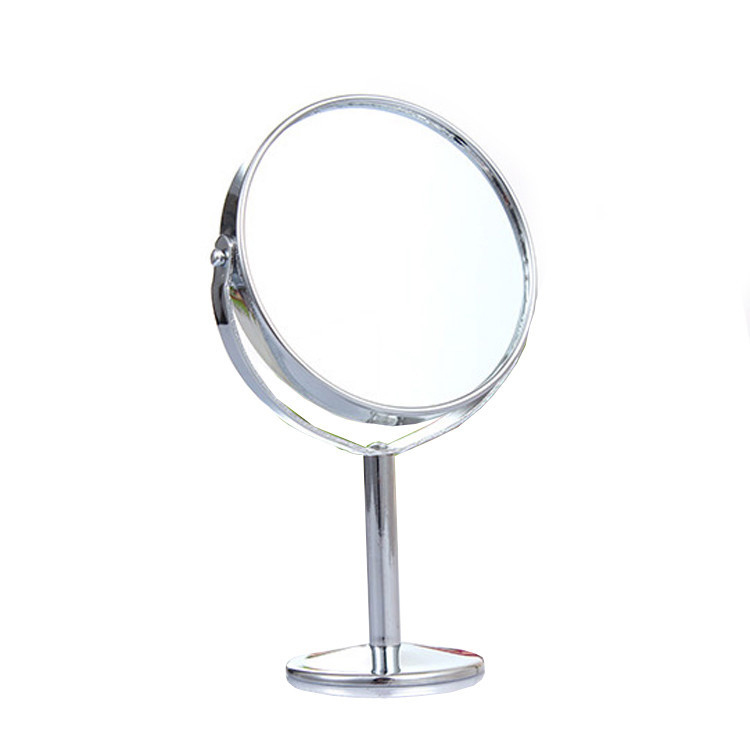 F00054 Portable Women Beauty Makeup Mirror Mini Lady Girl Dual Side Normal Cosmetic Mirror