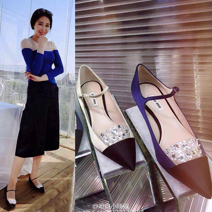 The spring of 2015 pointed shoes shoes diamond flat shoes casual fashion shoes with low cut