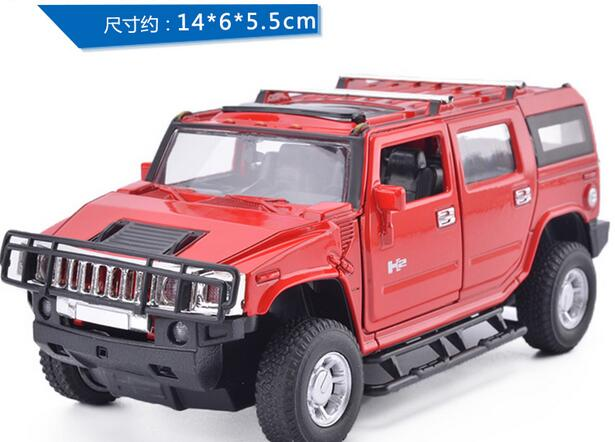 Baby Toys: KiNSMART Car Styling Hummer H2 SUV Model 1:40 Alloy Car Model Excellent Gifts for children gifts one piece(China (Mainland))