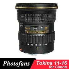 Buy Tokina 11-16mm F/2.8 ATX 11-16 Pro DX II Lens Canon 600D 650D 700D 750D 760D 800D 50D 60D 70D 80D 7D for $499.00 in AliExpress store