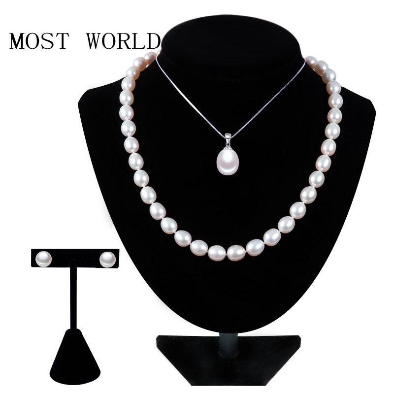 MOST WORLD 925 jewelrypearl MWF10 most world 8 5 9 925 earringpearl