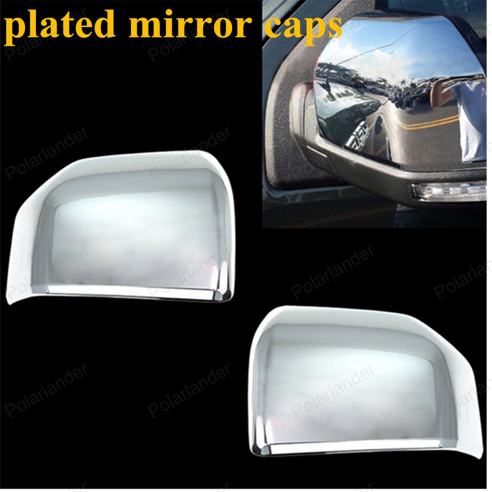 NEW High quality Professional 1pair 2pics for Ford car chrome rear view mirror caps auto plated covers for sale(China (Mainland))