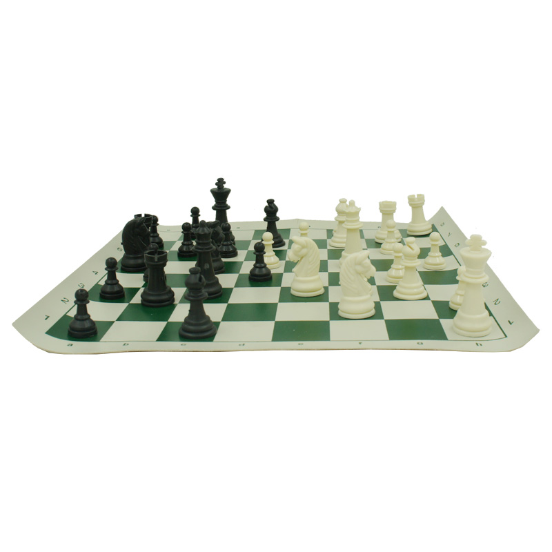 Checkers & Chess Set with Chessboard 35x35cm Table Games International Chess Plastic Chessman King 64mm 32 Pcs/Set Family Game(China (Mainland))