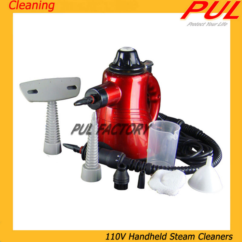 Handheld Multi-function Steam Cleaners, 110V Steam Cleaning Machine, Fast Shipping(China (Mainland))