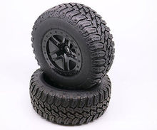 Hot Sale Factory Direct 4PCS 1/10 Short Truck 5 Frame Wheel & Tires RC CAR 12MM Hexagonal 3006(China (Mainland))
