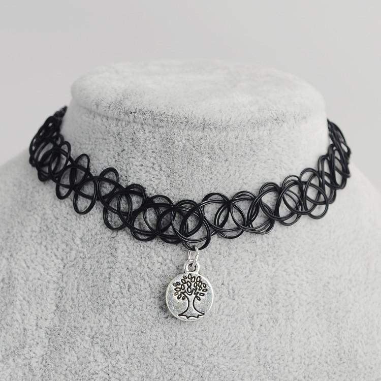 tattoo choker necklace  (2)