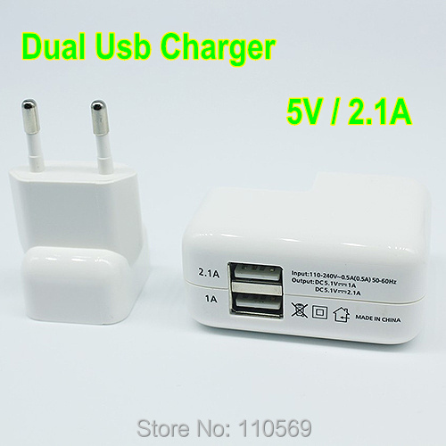 USB Charger Universal dual USB 2 ports Home Travel Wall AC Power Charger Adapter For For iPhone 5s for iPad for Galaxy S6 Note 3(China (Mainland))
