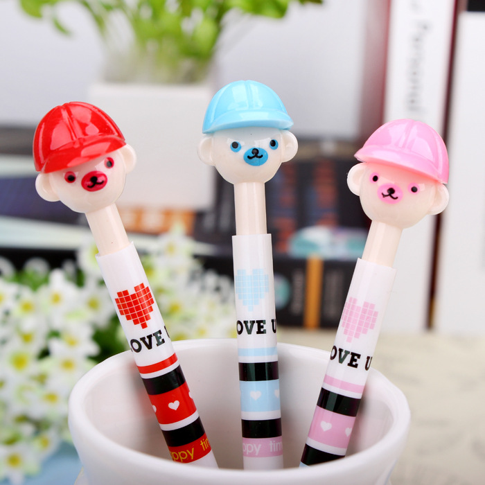 Dolly ballpoint pen creative cartoon scooter gift pen Korea creative stationery wholesale MF