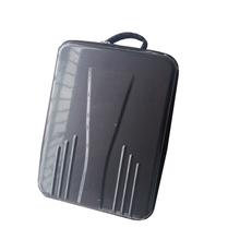 Carbon FIBER Look Hard Cover Black Shoulder Backpack Carrying Case Bag For Professional &Advanced DJI Phantom 3 RC Quadcopter