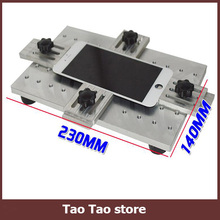 Aluminium alloy Universal phone LCD OCA Laminate Fixed mold Replace LCD UV Glue Mold Mould Glass Holder for iPhone Samsung(China (Mainland))