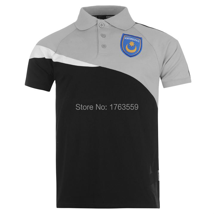 New design custom embroidery polo shirts with logo for for Personalised logo polo shirts