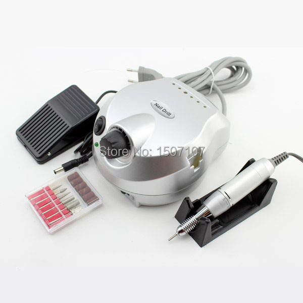 Professional Electric Nail Drill Machine Manicure Kits File Drill Bits Sanding Band Accessory Nail Salon Nail Tools(China (Mainland))