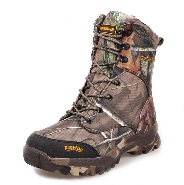 Camo hunting boots realtree ap camouflage snow boots for Waterproof fishing boots